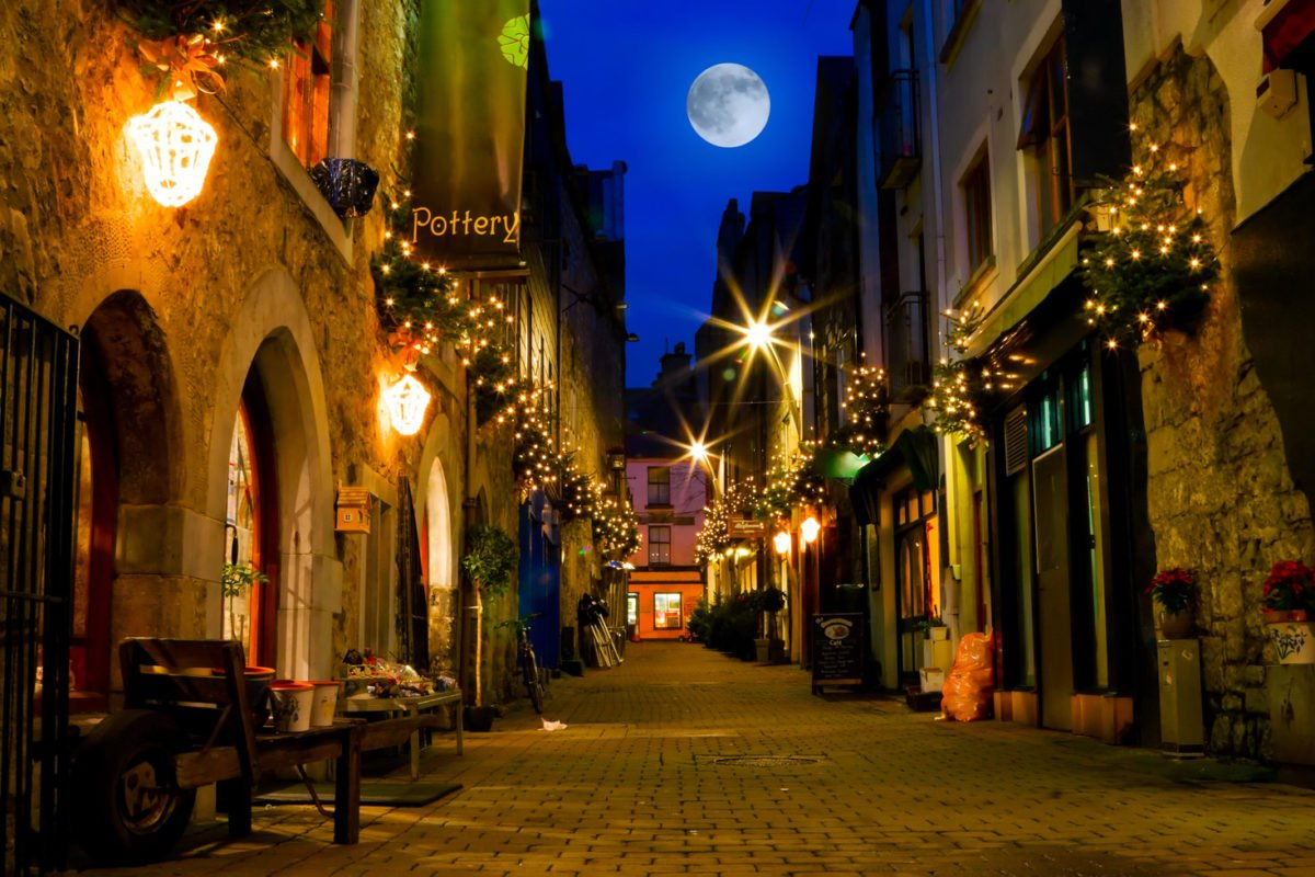 Galway City by Night