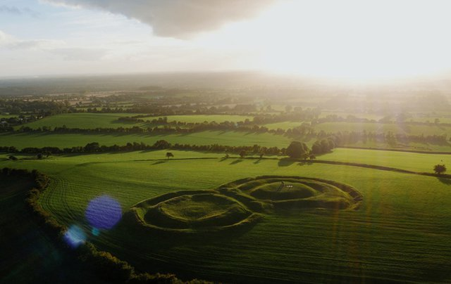 The sacred Hill of Tara